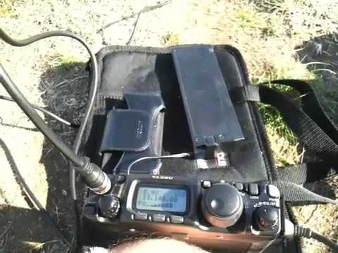 Hilltop QRP with KJ6BBS