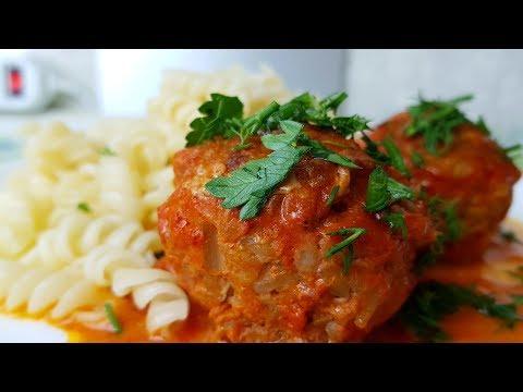 Тефтели в сметанно-томатном соусе, цыганка готовит. Gipsy cuisine.