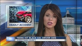 Black ice blamed for fatal Sheboygan County accident