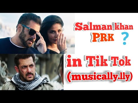Salman khan musically video | Salman khan prk in Tik Tok musically |  tik tok prank video