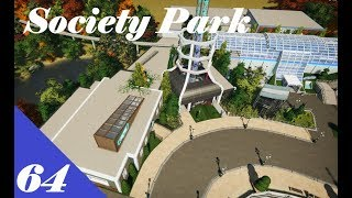 Planet Coaster | Society Park Part 64 | Worst station building...
