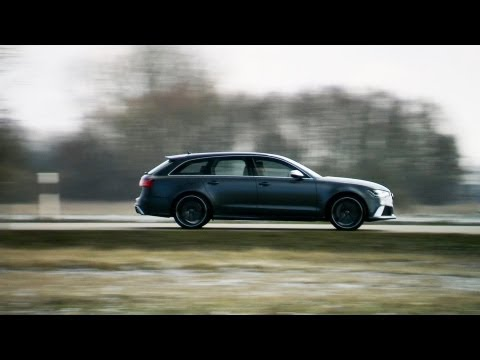 290 км/ч Audi RS6 Avant