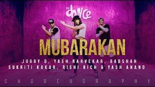 Mubarakan - Juggy D, Yash Narvekar, Badshah, Sukriti Kakar (Choreography) FitDance Channel