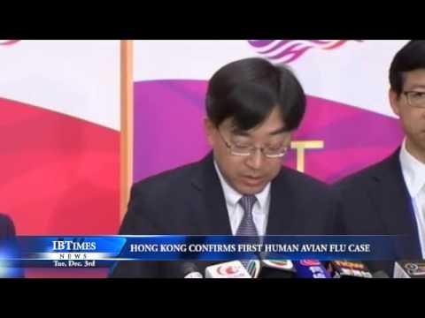 Hong Kong Confirms First Human Avian Flu Case
