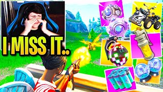 Bugha Gets Nostalgia watching OLD Fortnite & Explains What NEEDS to Happen in SEASON 3!