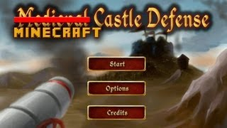 Minecraft:Defend The Castle-PvP Fest!!
