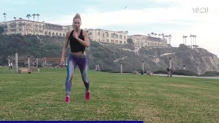 HIIT Workout: Fat Burning TABATA Style HIIT Workout - No Equipment