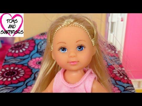 ❀ Куклы Барби Мультик Кукла Штеффи Еви не хочет спать Куклы Развивающие игрушки для детей Barbie