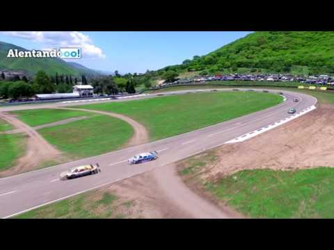 El Top Race V6 visto desde un dron