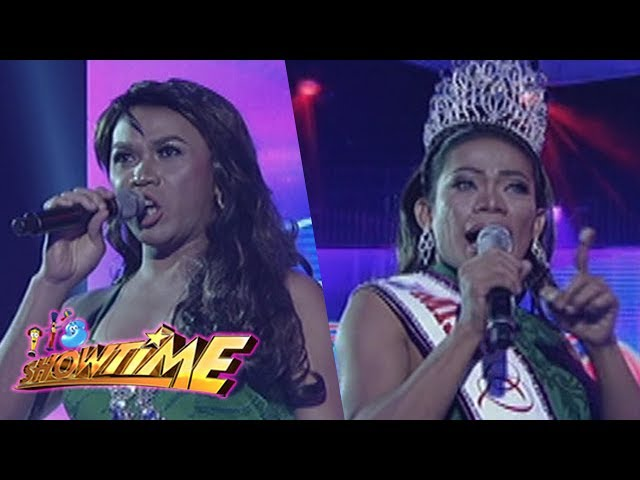 It's Showtime Miss Q & A: Elsa Droga vs. Maria Nicole on Beklamation!