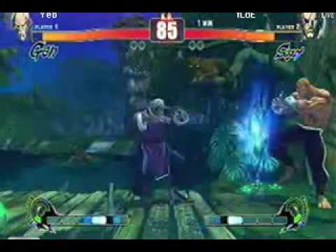 Yeb (Gen) vs Floe (Sagat) from West Coast Warzone Street Fighter 4