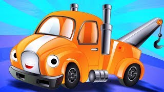 Wheels On The Tow Truck   Go Round And Round   Nursery Rhymes