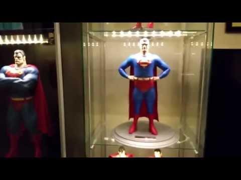 George Reeves Superman Statue on display