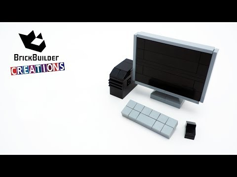 LEGO Study Time Computer Desk | MOC Nation Review & Speed Build