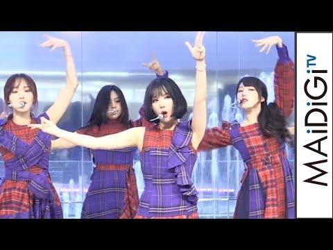 GFRIEND、日本初シングル「Memoria」を生披露!ユジュ、観客のサプライズバースデーソングに感激 「Memoria/夜」発売記念イベント2