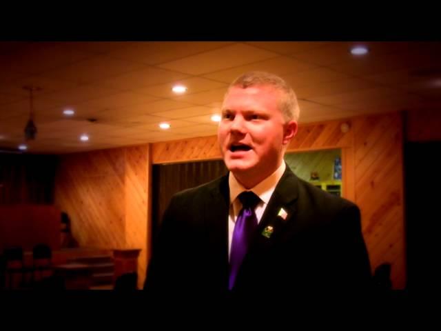 Elks Lodge Exalted Ruler Justin Phillips interview 3-29-2014