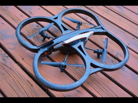RC ADVENTURES - Flying RC DRONE - Parrot AR 2.0 - An iPAD Controlled Wi-Fi Camera Quad Copter