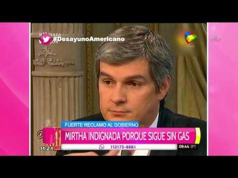 Mirtha Legrand le dijo las cosas en la cara a Marcos Peña