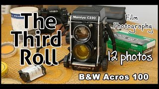 The Third Roll B&W Film Photography - First Time Using a Medium Format Film Camera - Mamiya C220f