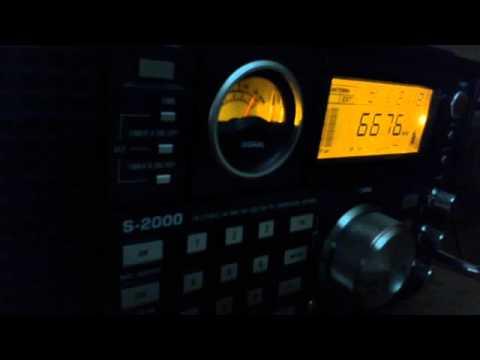 Bangkok Volmet 18 UTC on 6676 Khz USB Saturday 5 September 2015 - 2