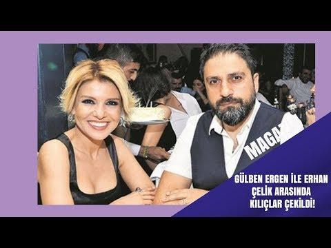 Gülben Ergen ile Erhan Çelik arasında kılıçlar çekildi!