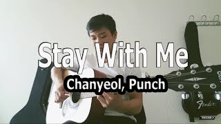 Stay With Me - Chanyeol, Punch (OST. Goblin)_Guitar fingerstyle cover by EricLu LML.