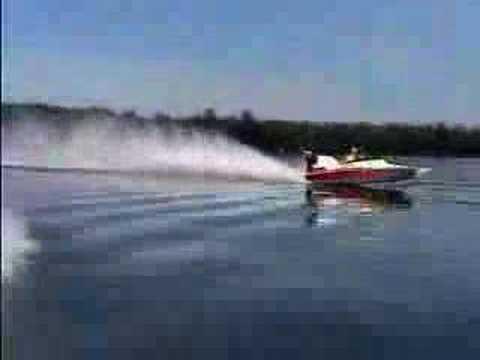 111mph stv speedboat