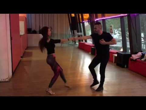 Taller Bachata Oscar y Neus en 3er Dance Floor Porto 2017