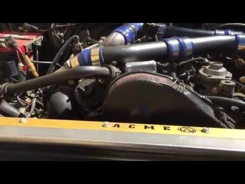 Suzuki Samurai 1.6td GTD turbo diesel Acme adapters Rock Crawler