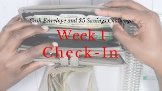 Week 1 Check-In + My $5 Challenge | March 2019 Budget