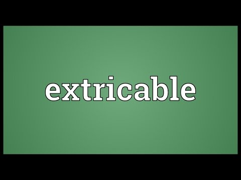 Header of extricable