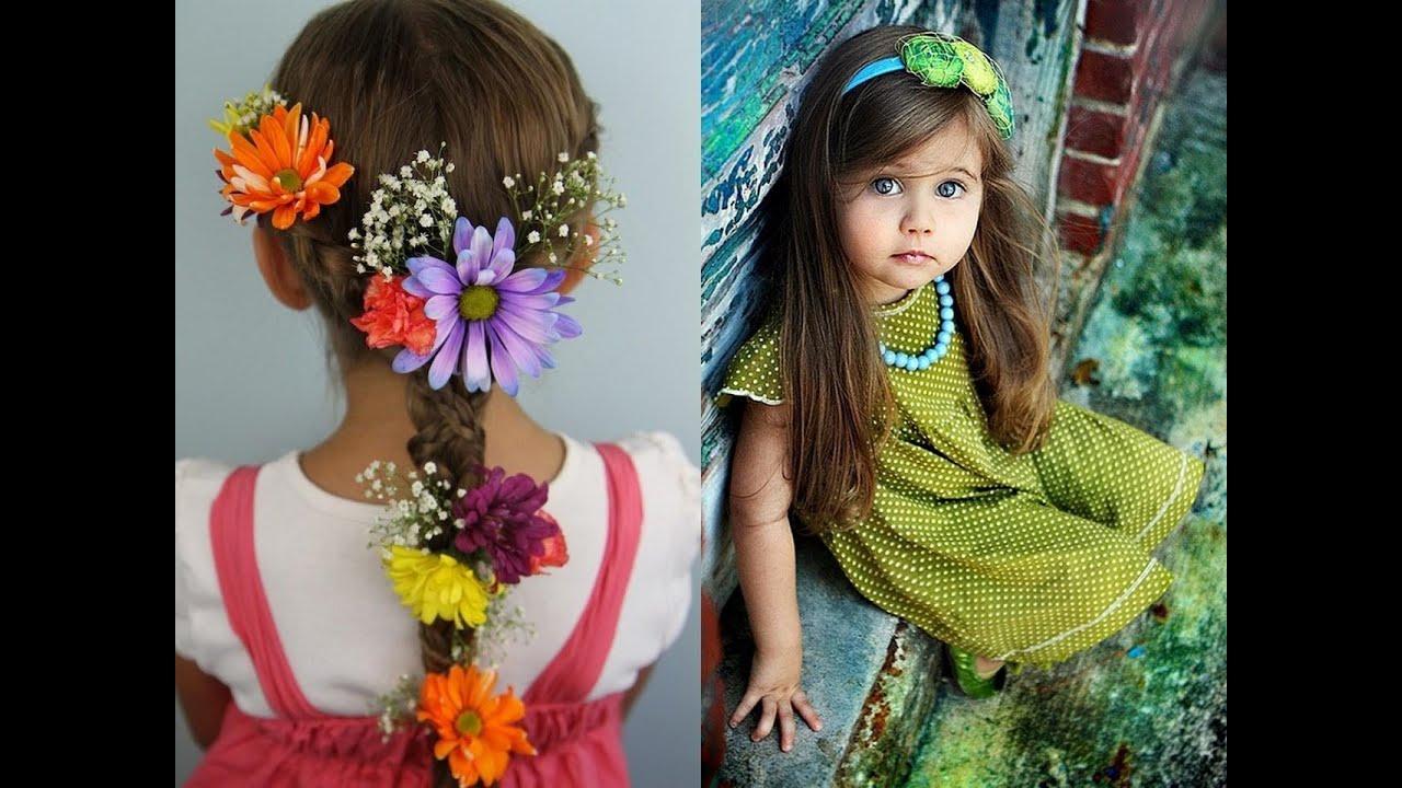 Модная прическа для девочек
