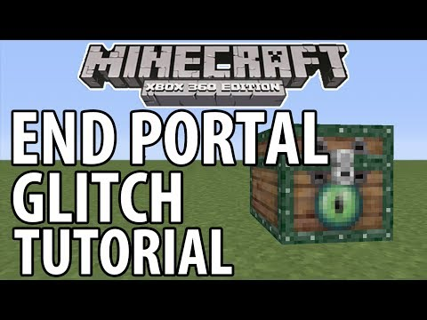 Minecraft (Xbox 360/PS3) - TU14 UPDATE! - END PORTAL GLITCH - TUTORIAL *NEW*