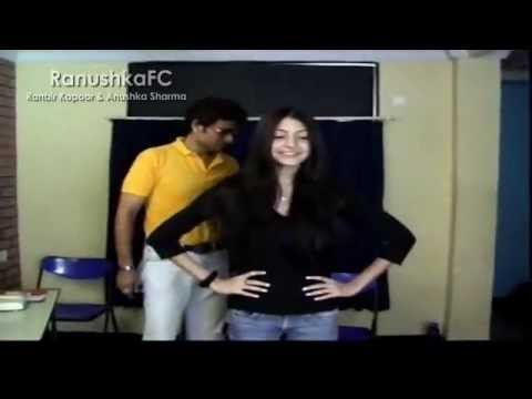 Anushka Sharma At Acting School Befor Rab Ne Bana Di Jodi video