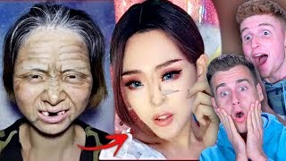 VIRAL ASIAN MAKE UP TRANSFORMATION TUTORIAL Ft. Infinite Lists