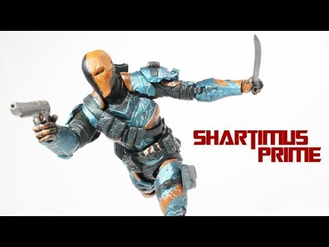 Arkham Origins Deathstroke DC Collectibles Series 2 Figure Review