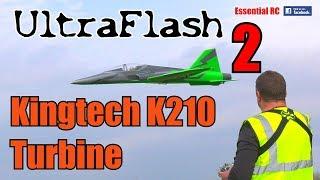 UltraFlash turbine sport jet FLIGHT 2 *FAST PASS* (Kingtech K210 turbine jet engine)