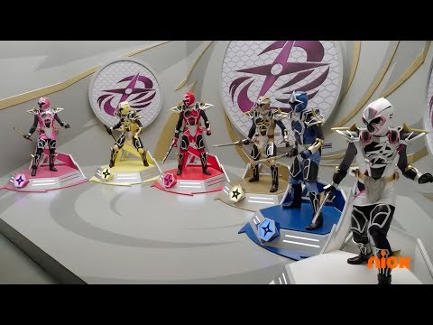 "Power Rangers Super Ninja Steel - Sub Surfer Ninja Megazord Fight   Episode 4 ""Making Waves"""