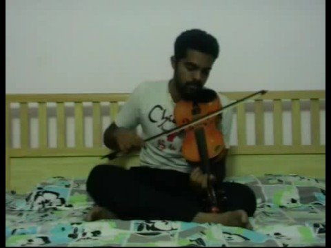Alaipayuthe Kanna In Violin By Subramoni Rengarajan video