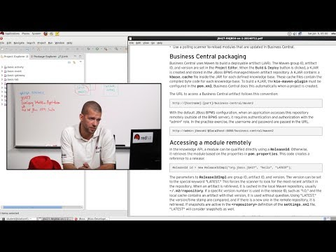 Video Classroom Preview - Developing Workflow Applications with Red Hat JBoss BPM Suite (JB427)