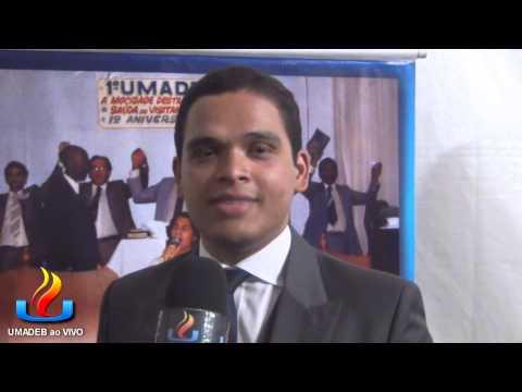 UMADEB 2013   Dia 10 02   Entrevista cantor Raphael Dias