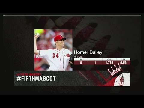 Fifth Mascot: Will the Reds regret Homer Bailey's deal?
