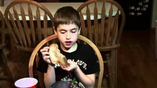9 year old kid eats Moruga Scorpion pepper like a champ!  THE WORLD'S HOTTEST PEPPER!