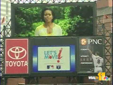 First Lady Promotes Youth Exercise Program