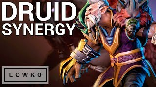Underlords: DRUID SYNERGY!