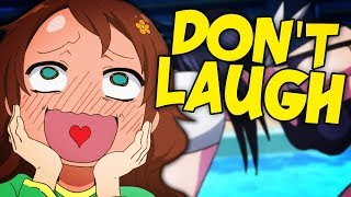 I ALMOST Laughed?! Try not to Laugh Challenge - Anime Edition