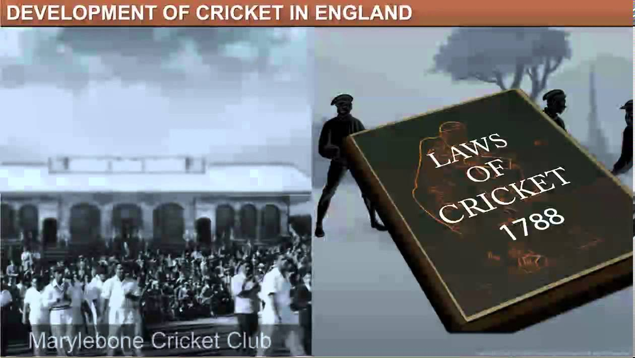 Class 9thChapter7 History Amp Sports The Story Of Cricket