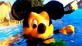 Mickey Underwater 🎵 Disney Pool Summer Fun