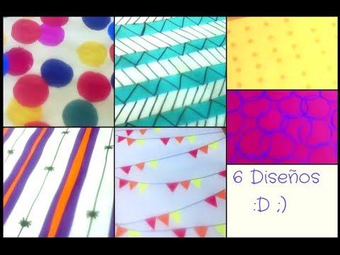 Papel scrapbook como hacer hojas decorativas para - Como decorar una servilleta de papel ...