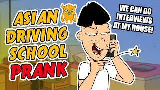 Asian Driving School Prank - Ownage Pranks